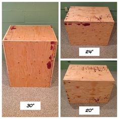 How to make a crossfit box. I know this is a Crossfit box, look at the blood on it! Crossfit At Home, Crossfit Box, At Home Gym, Crossfit Women, Box Jumps, Garage Gym, Basement Gym, No Equipment Workout, Crossfit Equipment