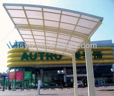 Steel Carports For Commercial Shopping Mall - Buy Steel Carports,stainless Steel…