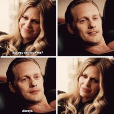 True Blood Season 7. Eric and Pam love each other so much! Sweet moment between them. I love Eric!