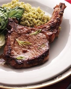 Soy-and-Ginger-Marinated Pork Chops