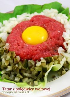 Tatar i jego tajemnice (Beef Tartare - recipe in Polish)