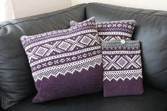 Ravelry: Marius-pute pattern by Sandnes Design Ravelry, Marius, Norwegian Knitting, Crochet Pillow, Knitting Accessories, Cushions, Colours, Throw Pillows, Knitting Ideas