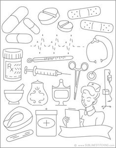 Sublime Stitching - Medicine Cabinet - Embroidery Patterns by Sublime Stitching Sublime Stitching - Hand Embroidery Patterns, Cross Stitch Embroidery, Machine Embroidery, Embroidery Designs, Digi Stamps, Doodle Art, Coloring Pages, Needlework, Creations