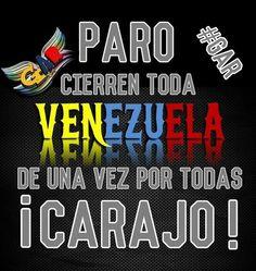 RT@_Resistencia_R PARO YA !! @omarbula @ReporteYa @DolarToday @InfoVzlaNet @combatiente21 @NaranjaRA @made_prieto