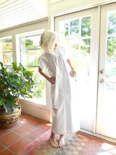 Vintage Oaxacan dress all white embroidered 1970's San Antonino wedding dress: one size fits most by BopandAwe on Etsy