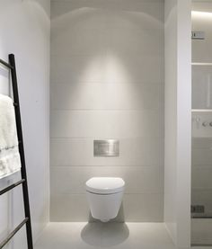 The best of Scandinavian interior design, grey and white toilet by Norm Arkitekter