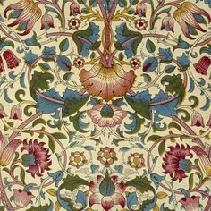 William Morris Lodden Tile, 4.25 or 6 inch