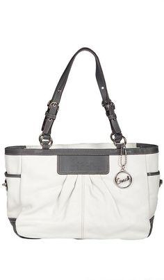 Coach #handbag #purse #clutch pleated gallery #tote
