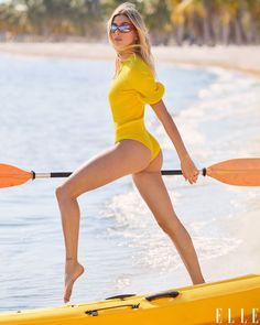 Hailey Baldwin, Corpo Sexy, Elle Us, New Wife, Bikinis, Swimwear, Elle Magazine, Celebs, Celebrities