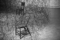 Chiharu Shiota: Presence in the Absence[Rochester Art Center, Rochester, Minnesota / USA]photo by Caylon Hackwith