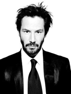 Keanu Reeves, I'm sorry if you think he's a bad actor, I find him incredibly sexy.