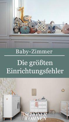 Typische Einrichtungsfehler im Babyzimmer, die sie vermeiden sollten.   #babyzimmer #einrichtung #fehler #gestalten #dekorieren #kinder #kindermöbel #spielzeug #wohnen #schönerwohnen