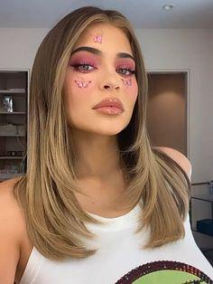 Kylie Jenner Icons, Looks Kylie Jenner, Kylie Jenner Photoshoot, Estilo Jenner, Kylie Hair, Kendall Jenner Blonde Hair, Brown Blonde Hair, Hair Looks, Kardashian