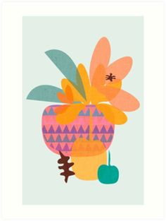 """""""Sold Art Print TROPICAL"""" by mirimo 