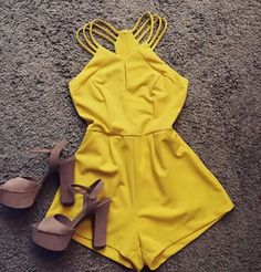 Short Outfits, Cool Outfits, Summer Outfits, Cute Rompers, Outfit Goals, Sheila, Jumpsuits For Women, Casual Looks, Cute Dresses