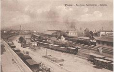 Panoramica sulla stazione,1917