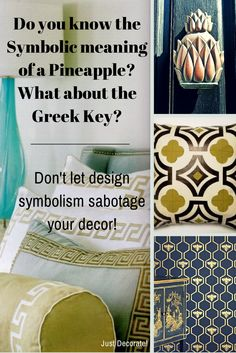 Interior Design Motifs and their Symbolic Meaning.