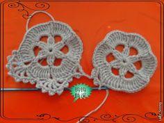 Вязание крючком и спицами/Crochet and knitting: Топ - безотрывное вязание крючком