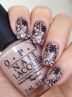 GioNails: Stamped on The Pretzel My Buttons - OPI