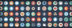 Beautiful Flat Icons – Download 384 Free And Open Source Variations