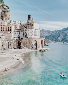 The charming seaside town of Atrani should be on every Amalfi Coast travelers list. Check out more photos of the Amalfi Coast that will… Places Around The World, Oh The Places You'll Go, Places To Travel, Travel Destinations, Around The Worlds, Thailand Travel, Italy Travel, Morocco Travel, Voyage Dubai