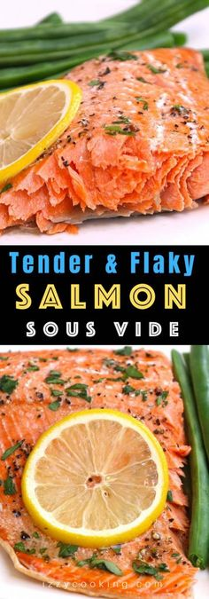 Easy and Healthy Sous Vide Salmon Kitchen Recipes, Cooking Recipes, Healthy Recipes, Healthy Foods, Sous Vide Salmon Recipes, Instant Pot Sous Vide, Sous Vide Cooking, Fish Recipes, Recipies