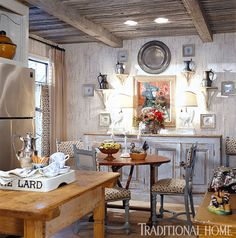 Charles Faudree's Country Cabin | Traditional Home