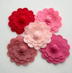I love these update corsages for showers!  This is a fun way to honor an old custom!
