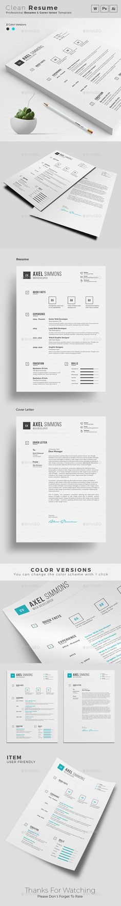 In  Timeless Resume Template Jpg Psd Ms Word  Resume  Cv