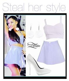 """Steal her style:Ariana grande"" by loveclohthssomuch on Polyvore"