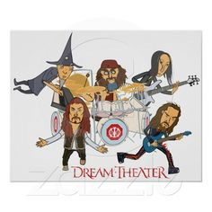 Dream Theater karikatur