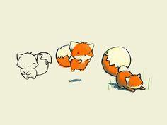 Ohhh tan dulce, jump jump little fox ;)