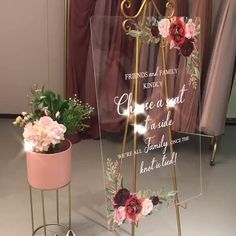 Take a look at this stunning burgundy welcome wedding sign. decor diy videos Burgundy Acrylic Welcome Wedding Sign Acrylic Wedding Invitations, Wedding Invitation Cards, Wedding Stationery, Wedding Cards, Wedding Welcome Signs, Wedding Signs, Our Wedding, Dream Wedding, Wedding Ideas