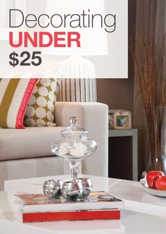 Decorating Under $25 » Apartment Living Blog » ForRent.com : Apartment Living