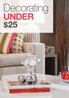 Decorating Under $25 » Apartment Living Blog » ForRent.com : Apartment Living