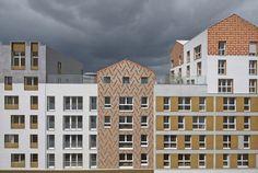 Toits terrasses de 360 logements à Pontoise, France
