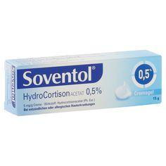 Soventol Hydrocortisonacetat 0,5% 15 Gramm online bestellen - medpex Versandapotheke