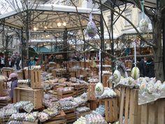 Easter Market in Vienna, Austria