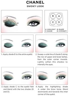 CHANEL - SMOKY LOOK GUIDE
