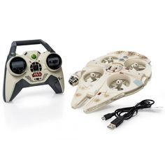 Amazon.com: Air Hogs Star Wars Remote Control Ultimate Millennium Falcon Quad: Toys & Games