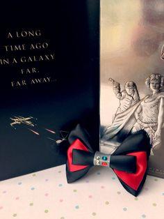 Star Wars Disney Darth Vader Inspired Handmade Hair Bow on Etsy, $8.00