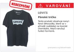 Levi's t-shirt icreadible this cant be enought for the company to stop it Detox, Levis T Shirt, Social Environment, Herren T Shirt, T Shirts, How To Find Out, Mens Tops, Catwalk, Earth