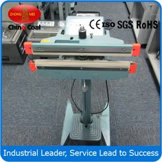 PFS350  Pedal Sealing Machine Packaging Machinery chinacoal07 we provide service of enterprise's customs declaration, inspection. heater sealer one side foot pedal sealer Pedal Sealing Machine