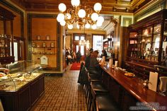 Inside the Demel café house in Vienna