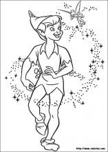 peter pan coloring pages on coloring bookinfo - Peter Pan Crocodile Coloring Page