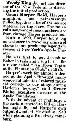 Minstrel Show, Dance Numbers, Josephine Baker, King Jr, Book Title, Dancer, Initials, Songs, Dancers