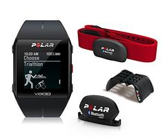 Polar V800 GPS Sports Watch Special Edition with Heart Rate Monitor Black ** Details can be found by clicking on the image. (Note:Amazon affiliate link)