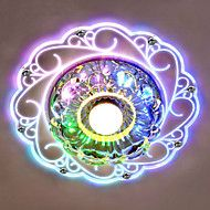 New Modern Crystal LED Ceiling Light Lamp Living room Hall Porch Lighting Led Recessed Ceiling Lights, Crystal Ceiling Light, Led Ceiling Lamp, Bedroom Ceiling, Porch Ceiling, Dorm Lighting, Lighting Ideas, Porch And Balcony, Fan Light Kits