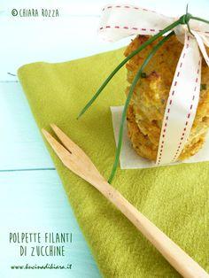 Kucina di Kiara: Polpette filanti di zucchine