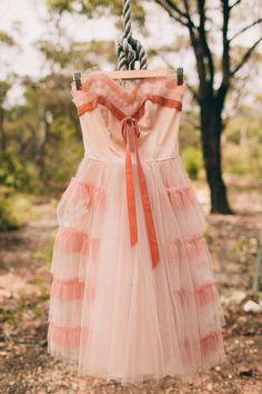 Emotional DIY Kawaii Wedding: Talia & Zac - Check out this dress!